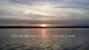 You do not have a soul - you are a soul